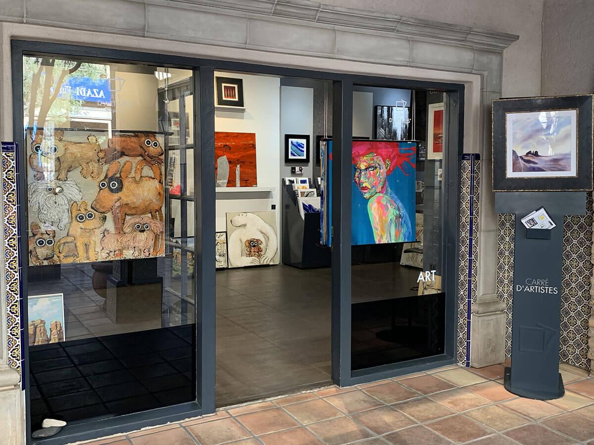 Galerie Sedona - devanture