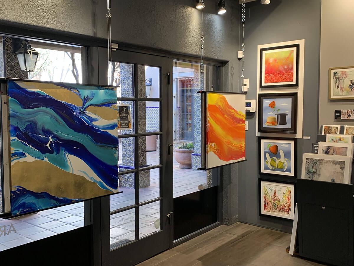 Galerie Sedona - intérieur
