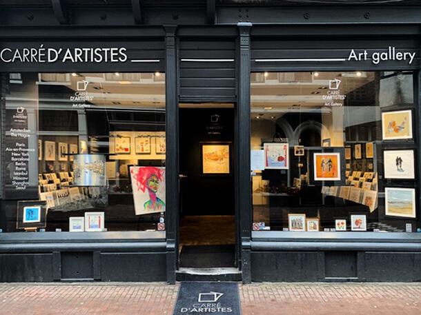 Galerie Amsterdam 9 street - devanture