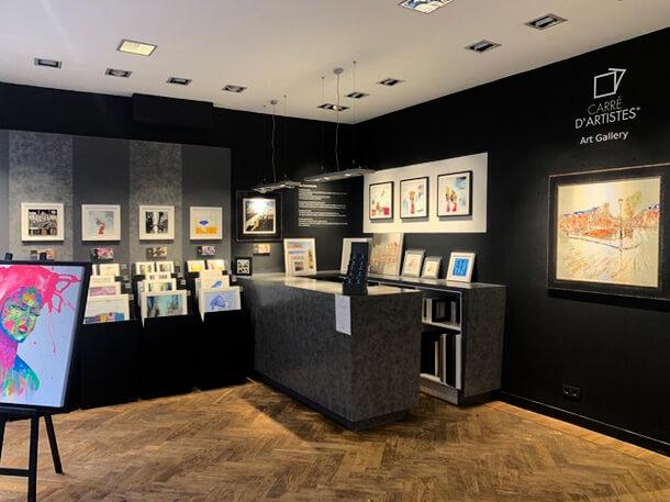 Galerie Amsterdam 9 street - intérieur