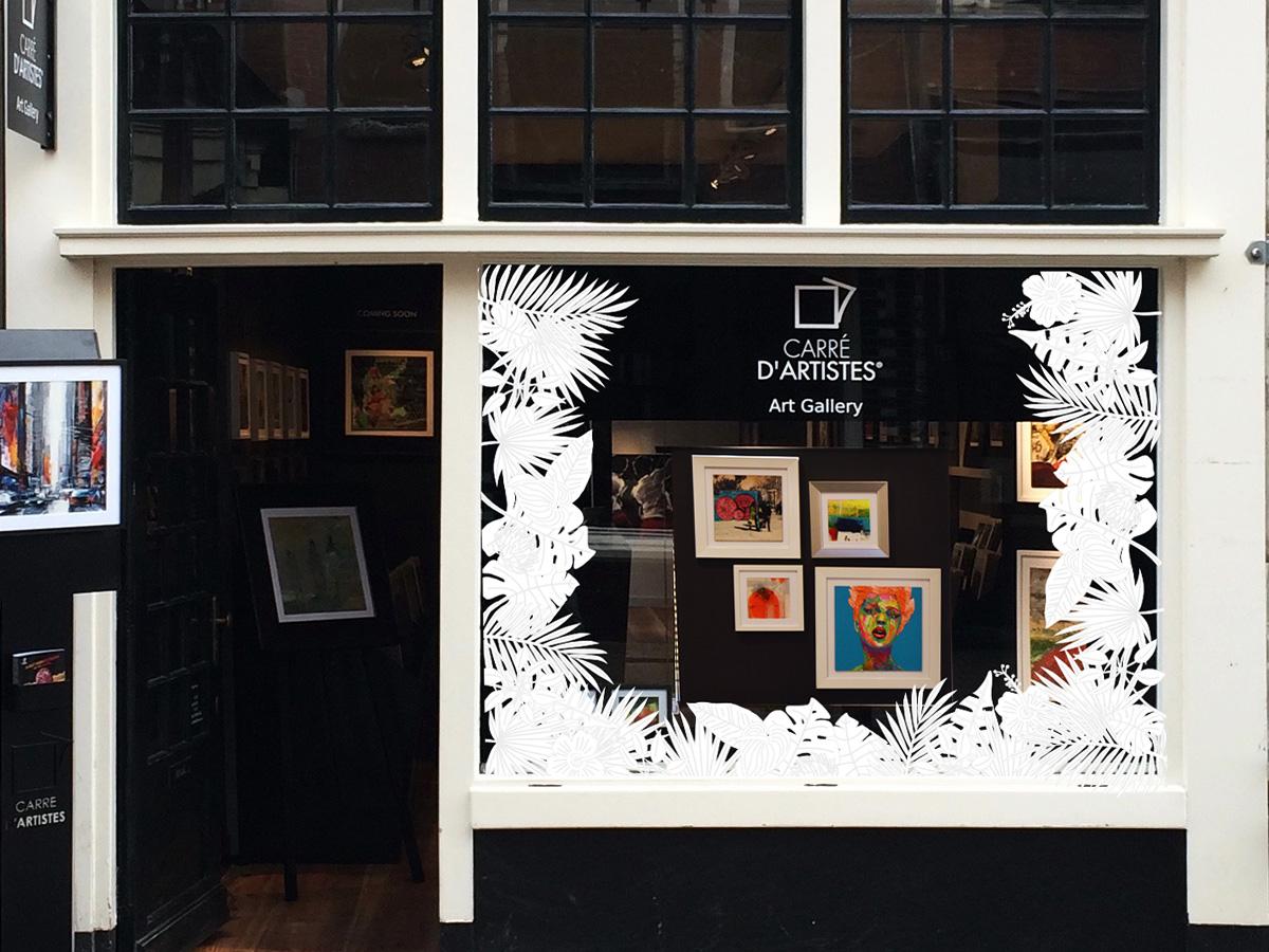 Galerie Amsterdam Spiegelstraat - devanture