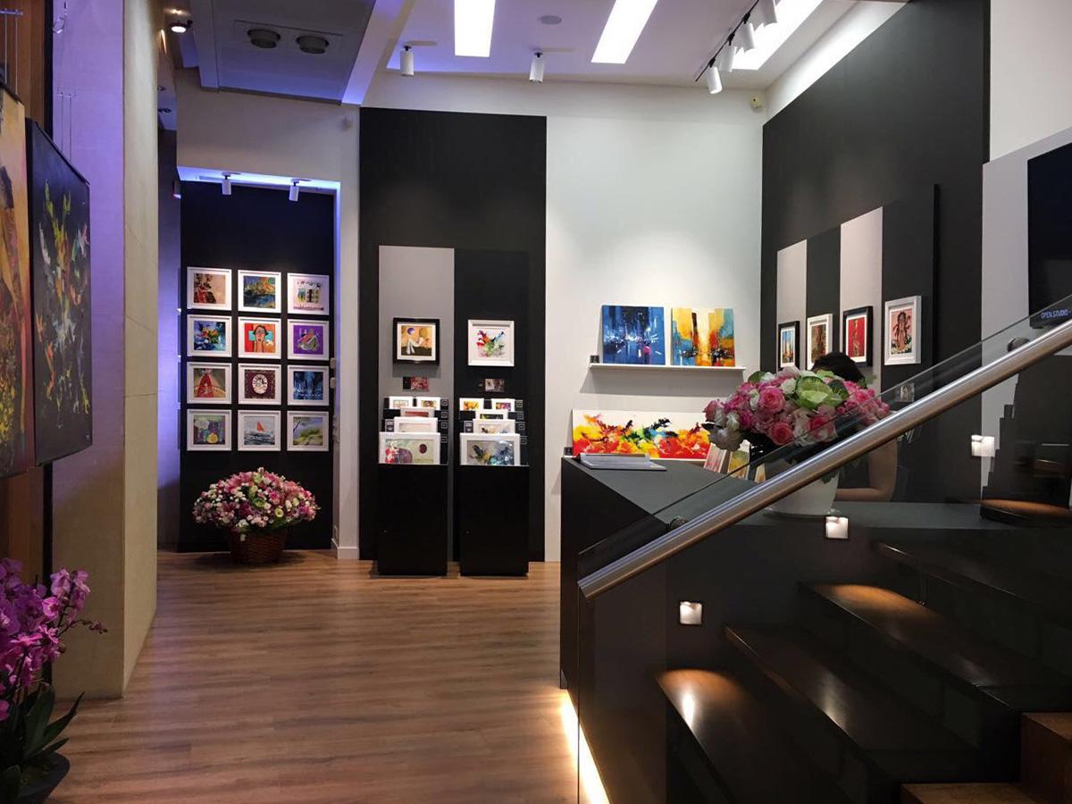 Galerie Beirut - intérieur