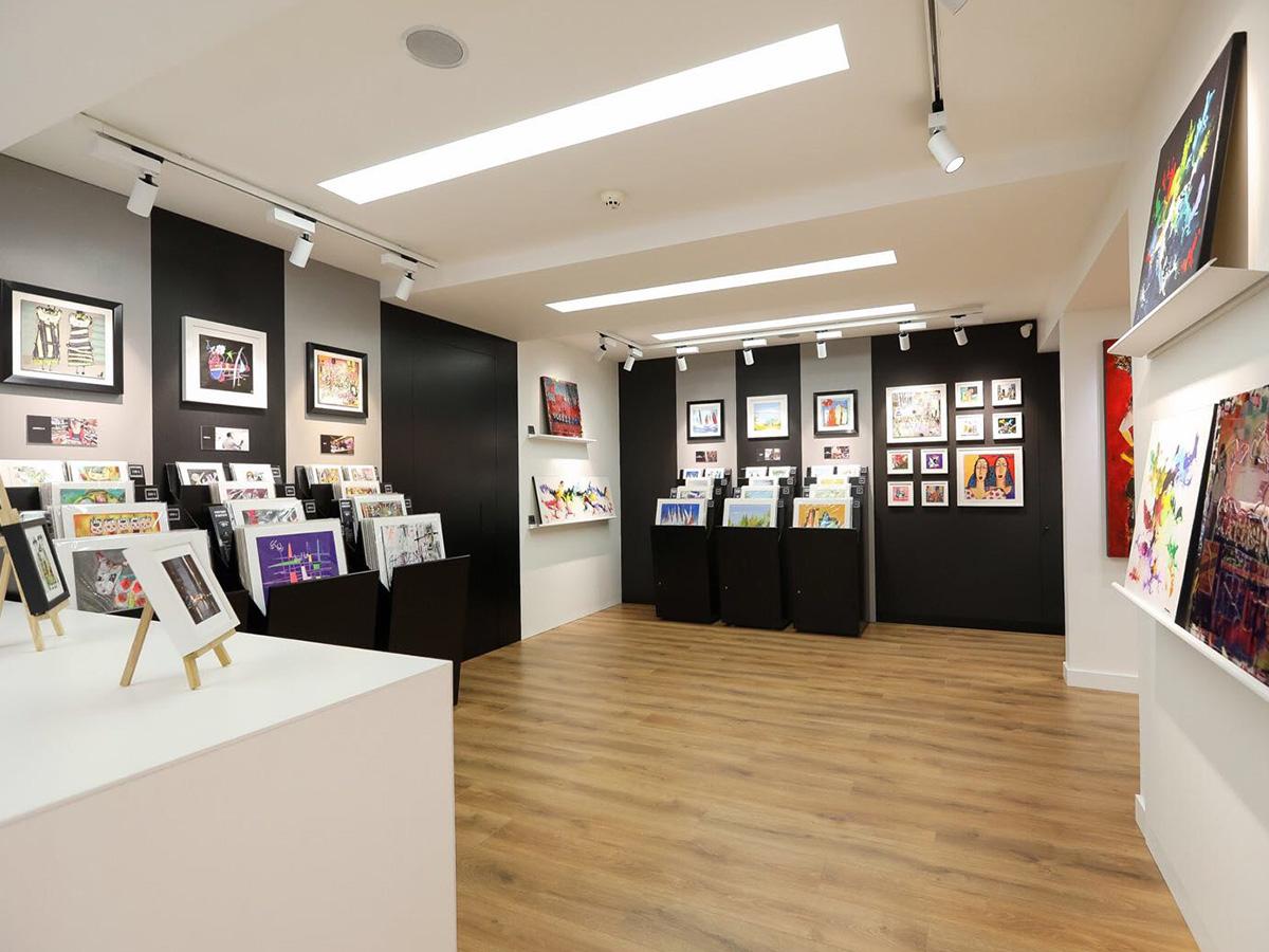 Galerie Istanbul - intérieur