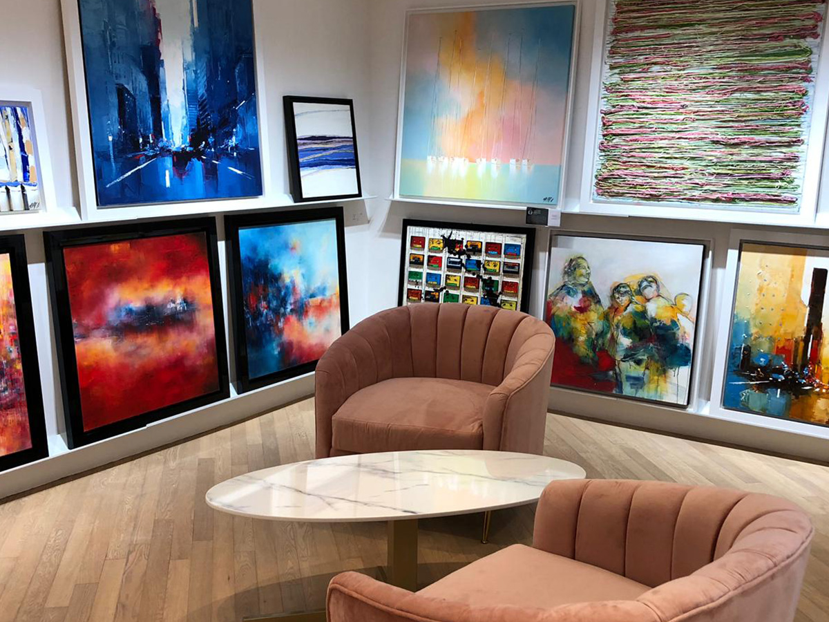 Galerie Hong Kong - intérieur