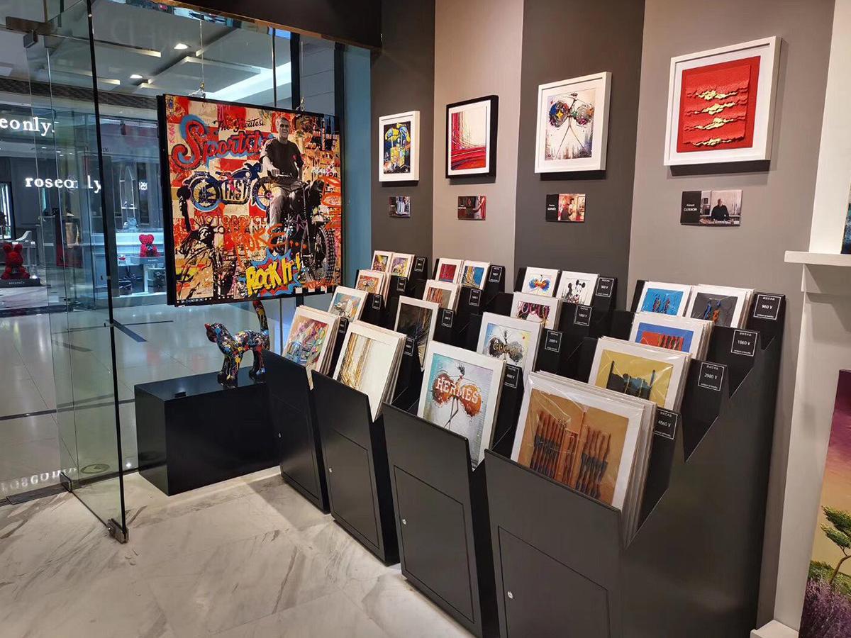 Galerie Pékin China World - intérieur