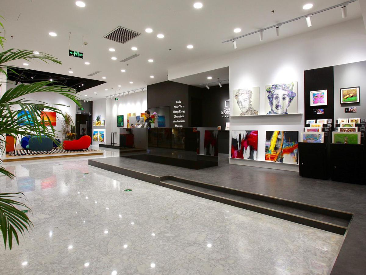 Galerie Pékin Financial District - intérieur