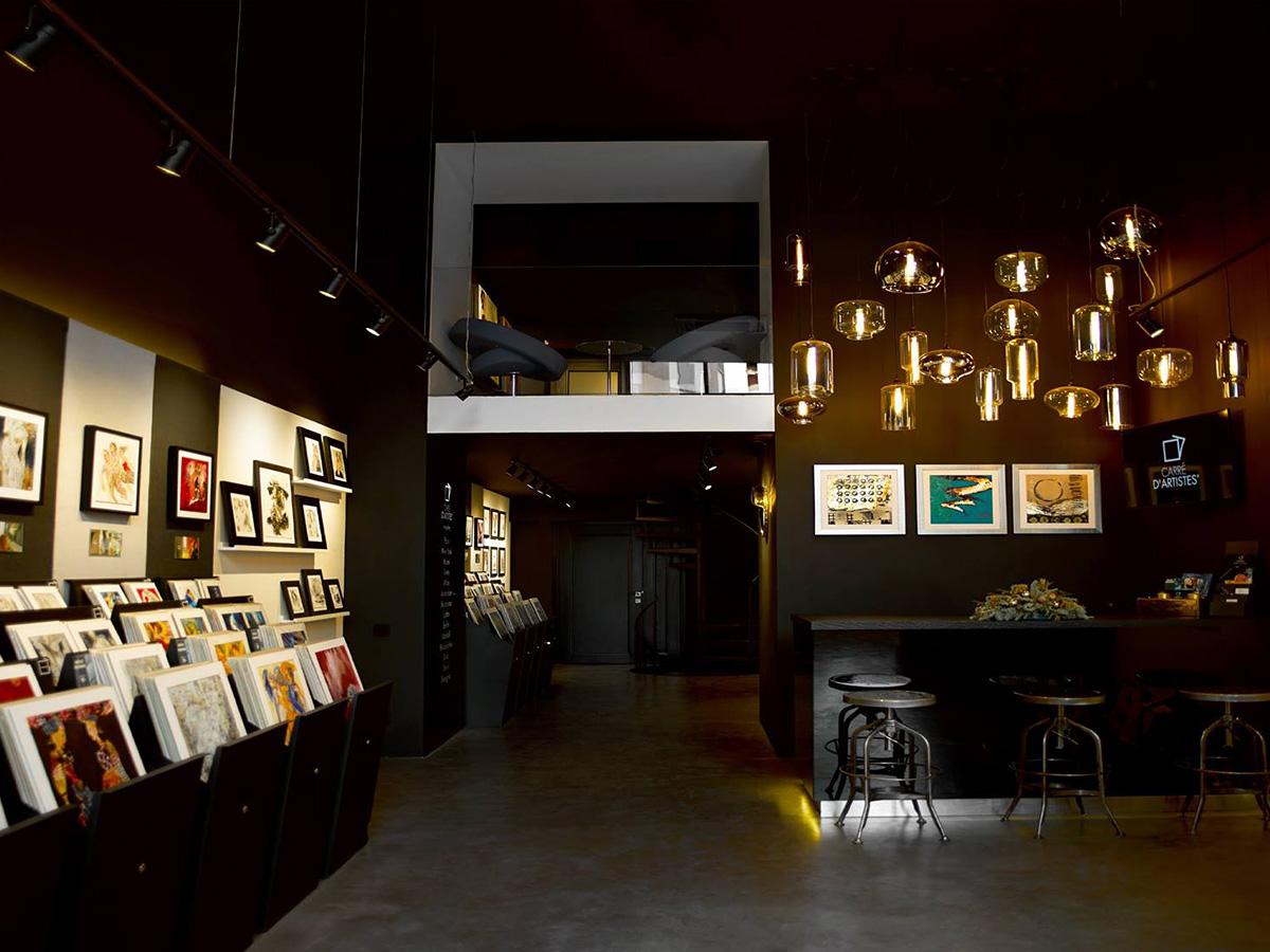 Galerie Moscou - intérieur