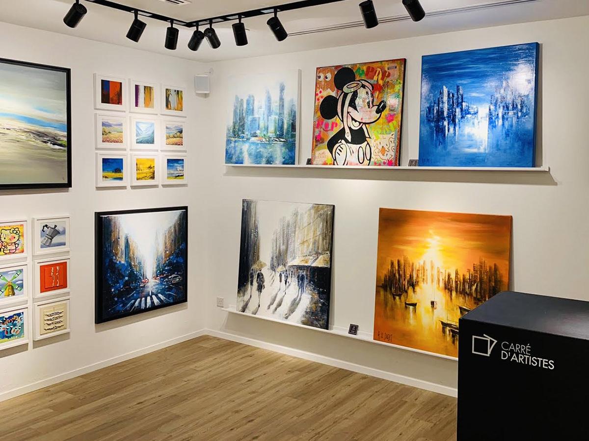 Galerie Singapour - intérieur