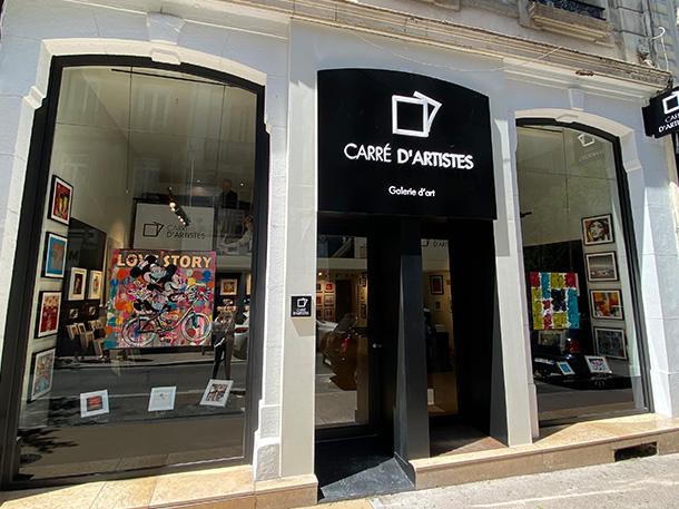 Galerie Saint-Etienne : Devanture
