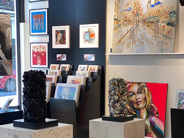 Galerie Saint-Etienne : intérieur 02