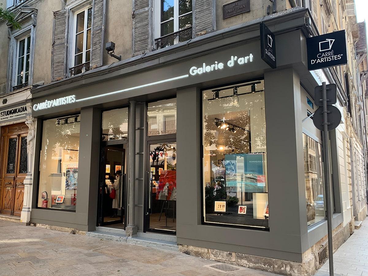 Galerie Troyes : Devanture