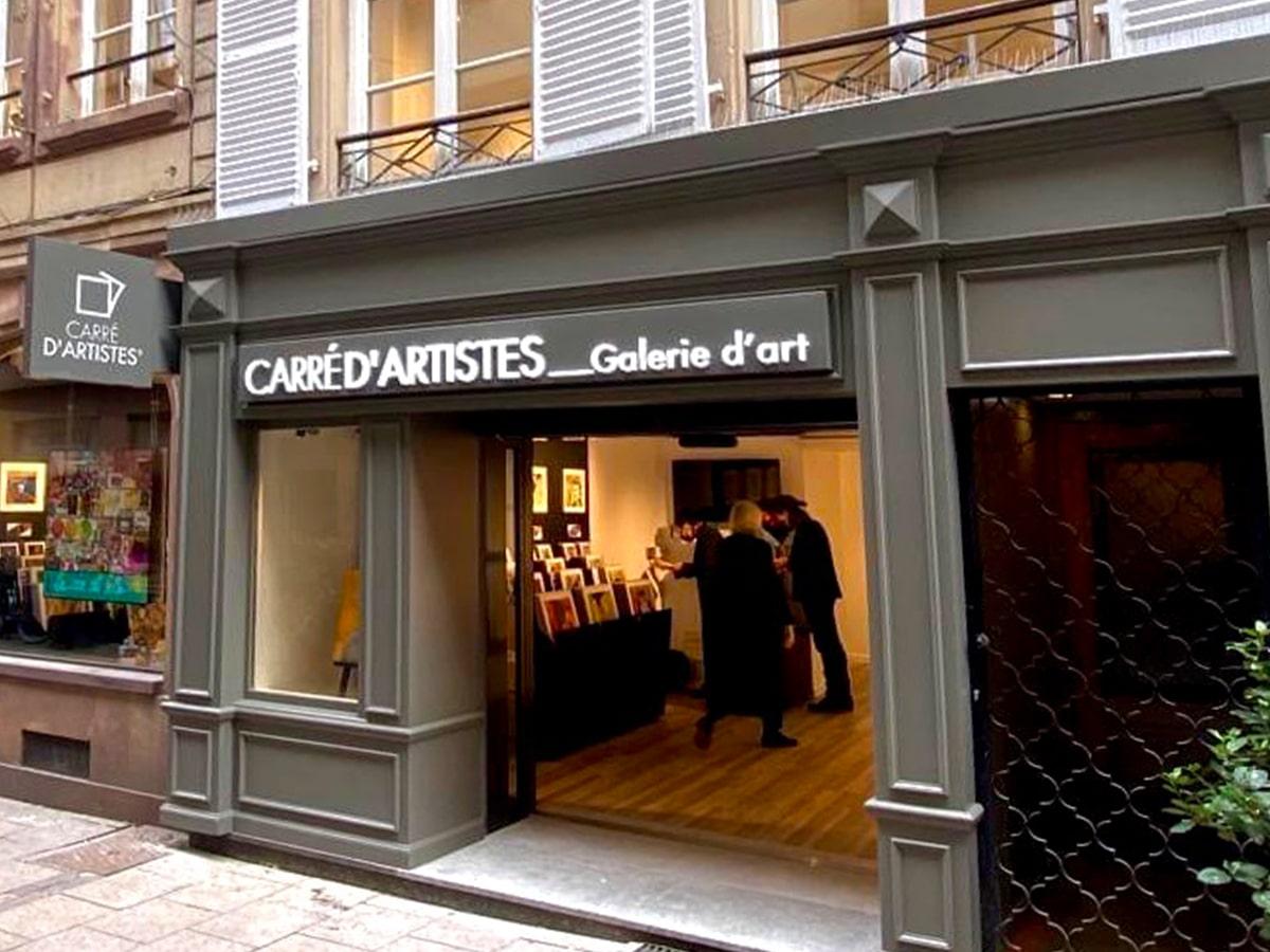 Galerie Strasbourg 2 : devanture