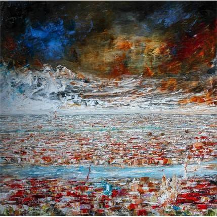 Pierre Reymond Lyon from Fourvière 100 x 100 cm