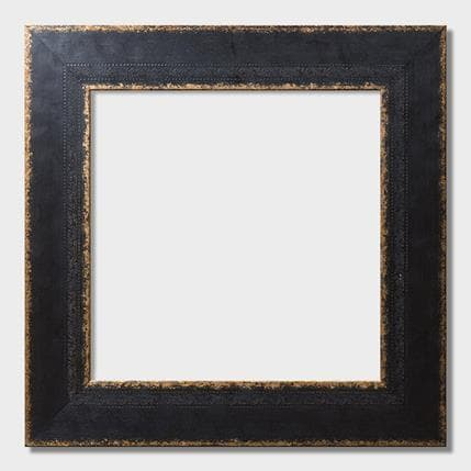 Carré d'artistes Black & Gold frame