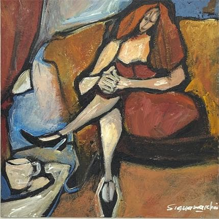 Bernard Signamarcheix Bleuté 19 x 19 cm