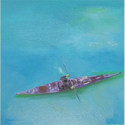 Sergi Castignani Bleu 2 25 x 25 cm