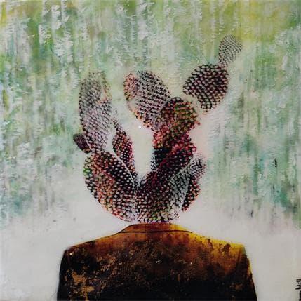 Laura Bofill Con una cabesa cactus 19 x 19 cm