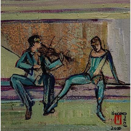 De Secondigné La belle musique  13 x 13 cm