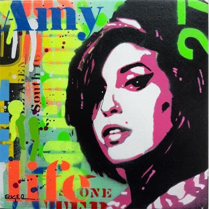 Philippe Euger Amy Winehouse 19 x 19 cm