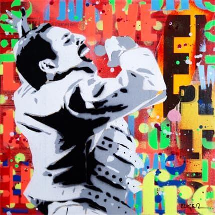 Philippe Euger Freddie Mercury 25 x 25 cm