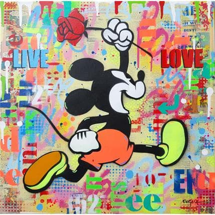 Philippe Euger Live and Love 50 x 50 cm