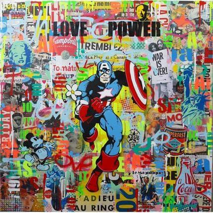 Philippe Euger Love Power 80 x 80 cm