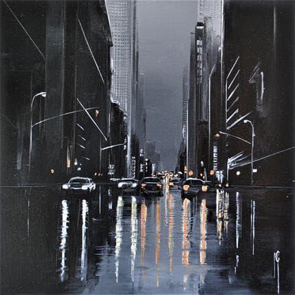 Maurizio Galloro Miroitement nocturne 19 x 19 cm