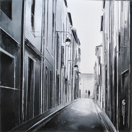 Maurizio Galloro Balade lumineuse 19 x 19 cm