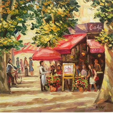 Arkady Café la royale 36 x 36 cm