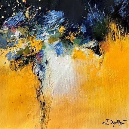 Dupetitpré Roselyne Instant jaune 19 x 19 cm