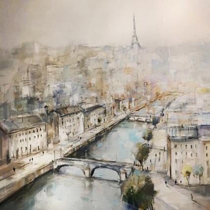 Richard Poumelin Paris 100 x 100 cm