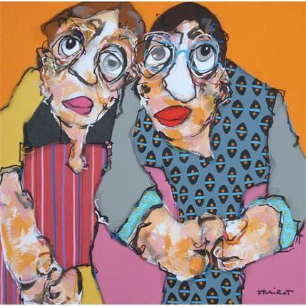 Maxime Frairot Paule et Victor 36 x 36 cm