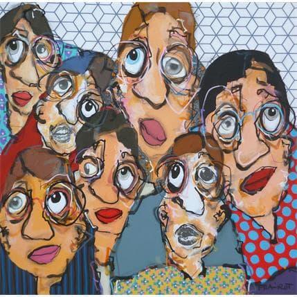Maxime Frairot Presque tous sur la photo 36 x 36 cm