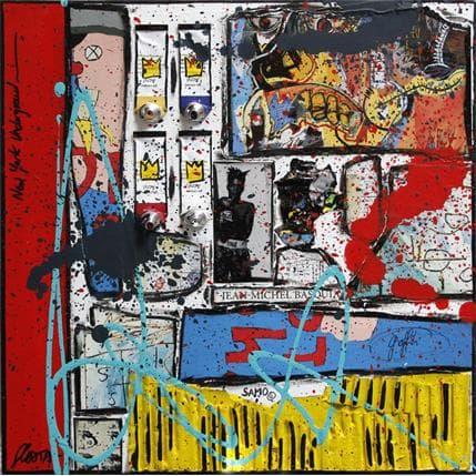 Sophie Costa New York underground 36 x 36 cm