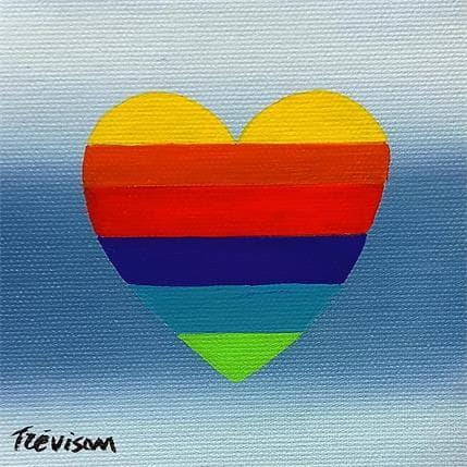 Carlo Trévisan Rainbow 13 x 13 cm