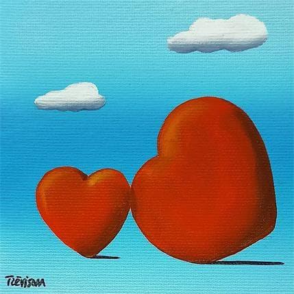 Carlo Trévisan Love 13 x 13 cm