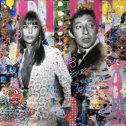 Fabien Novarino 60's Idols 50 x 50 cm