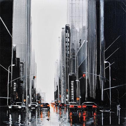 Maurizio Galloro Fluidité urbaine 13 x 13 cm