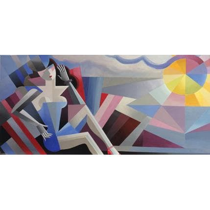 Karl Gustavsen Bord de mer 100 x 50 cm