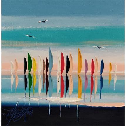 David Fonteyne LA MER EN COULEUR 19 x 19 cm