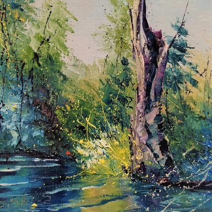 Jacques Majos L'ARBRE CREUX 13 x 13 cm