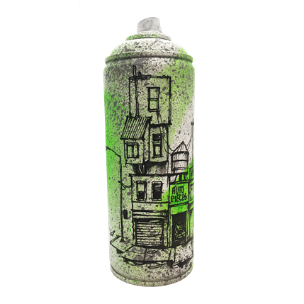 Graffmatt Green city 7 x 7 x 19 cm