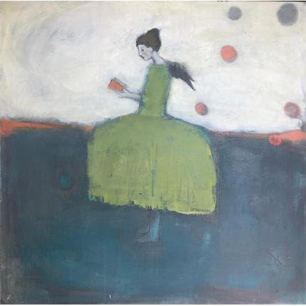 Valérie Anceaume Gutierrez Lire ou partir 80 x 80 cm