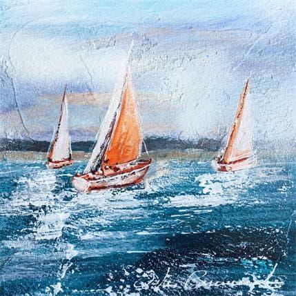 Ortis-Bommarito Nicole Le long de la côte 19 x 19 cm