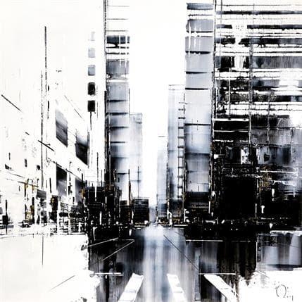 Julien Rey Après la pluie 80 x 80 cm