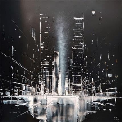 Julien Rey Soul of the City 100 x 100 cm