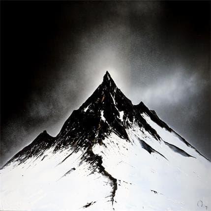 Rey Julien L'appel de la montagne 100 x 100 cm
