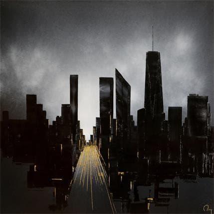 Julien Rey By Night 80 x 80 cm