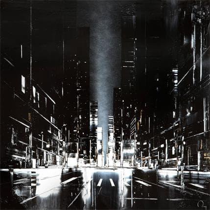 Julien Rey Down, The Road 80 x 80 cm