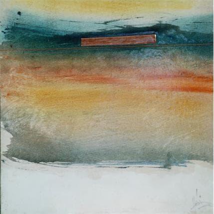Christian Hévin Abstraction #3926 19 x 19 cm